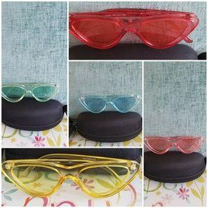 Women sunglasses cat eyes shaper fashion